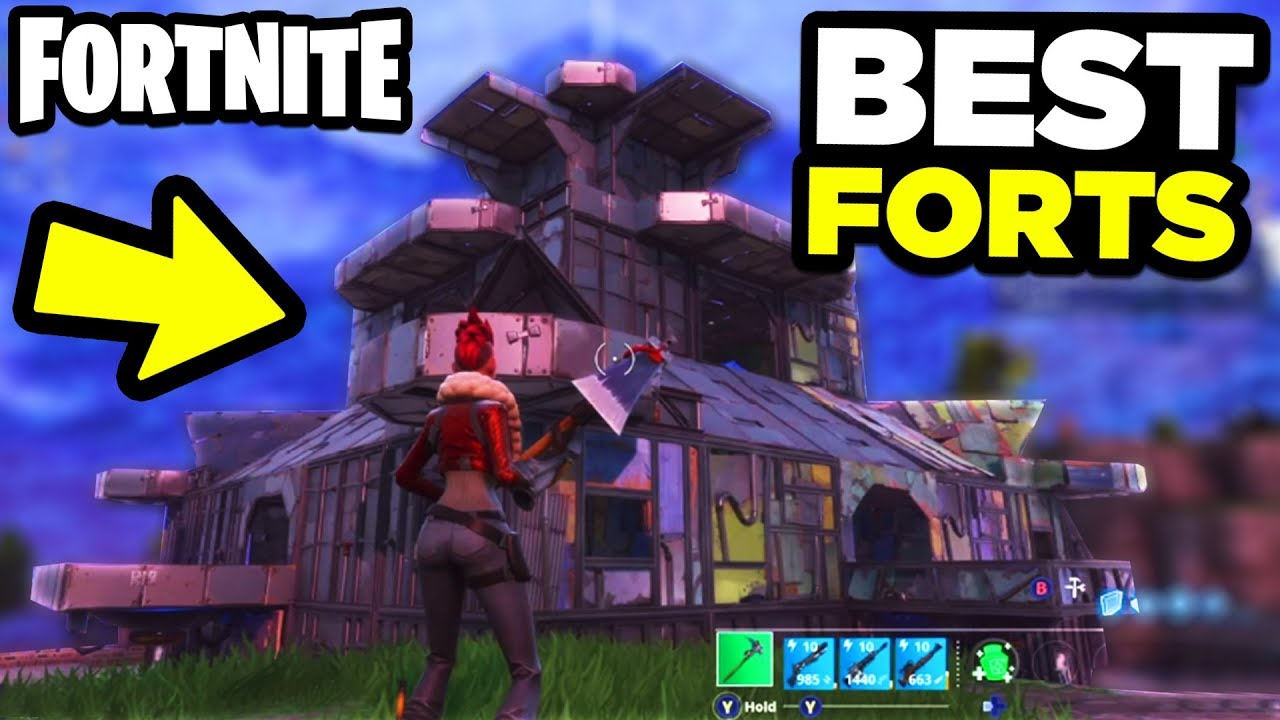 Top  Best Forts In Fortnite Battle Royale