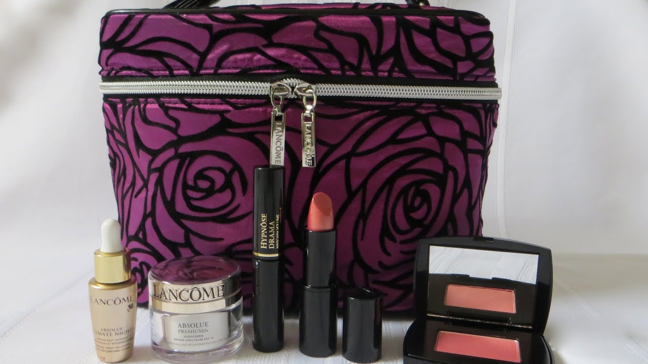 Lancome Gift With Purchase Nordstrom Anniversary Sale 2013 - YouTube