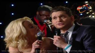 Michael Buble Ft Kellie Pickler - White Christmas (christmas Special 2011)