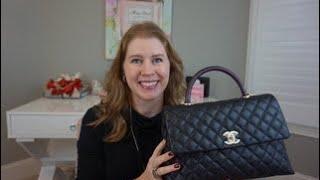 Chanel Coco Handle Flap Review fdb2d6d677e1d
