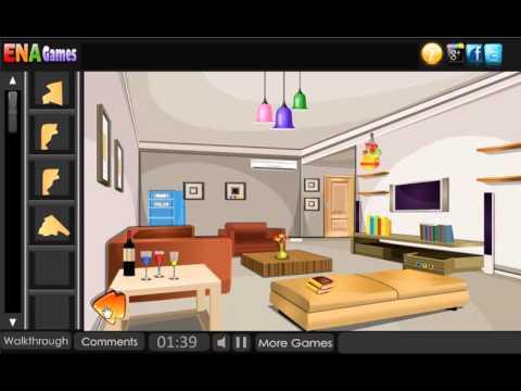 Modern guest house escape walkthrough youtube for Minimalist house escape 2 walkthrough