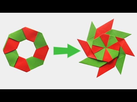How To Make Paper Ninja Star Very Easy Tcraft Youtube