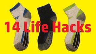 14 Life Hacks with Socks