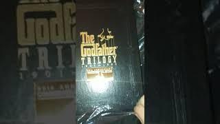 The Godfather Trilogy 1901-1980 VHS Box set unopening