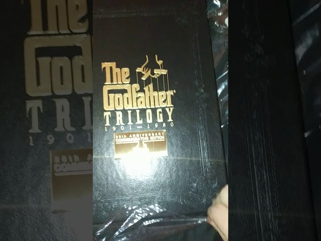 The Godfather Trilogy 1901-1980 VHS Box set unopening