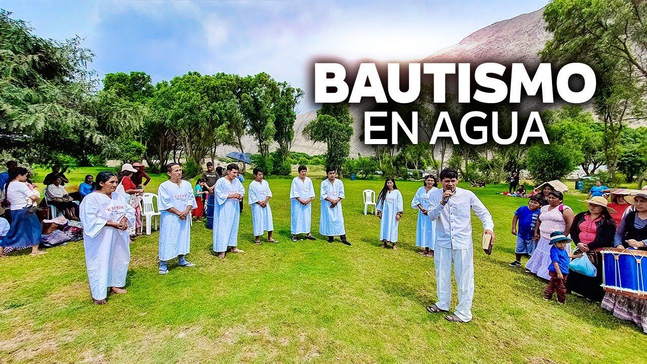 CONFESANDO SUS PECADOS SE BAUTIZAN | Ministerio El Buen Pastor