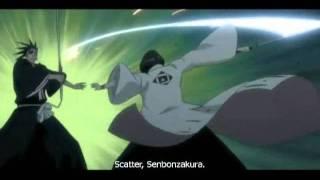 Bleach Regai Retsu Unohana Vs Kenpachi Zaraki Shunsui Kyōraku And Jūshirō Ukitake