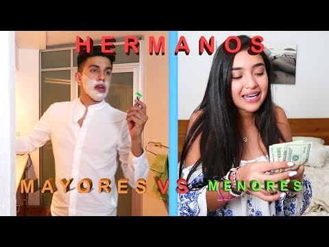 HERMANOS MAYORES vs HERMANOS MENORES ft Xime Ponch - Yo Soy Gil