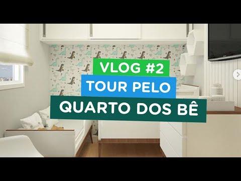 VLOG #2 - REFORMA/TOUR QUARTO DOS BÊ | Por Talita Ramos