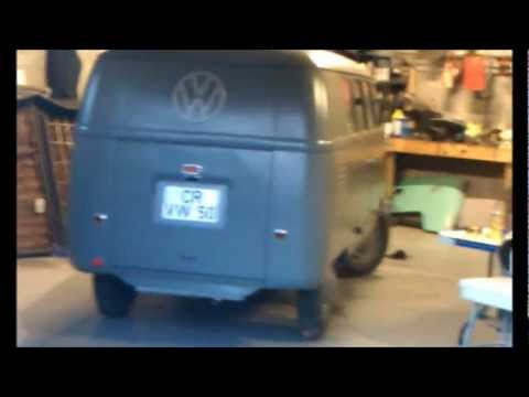 BUBBA'S BARNDOOR 1950 VW BUS - YouTube