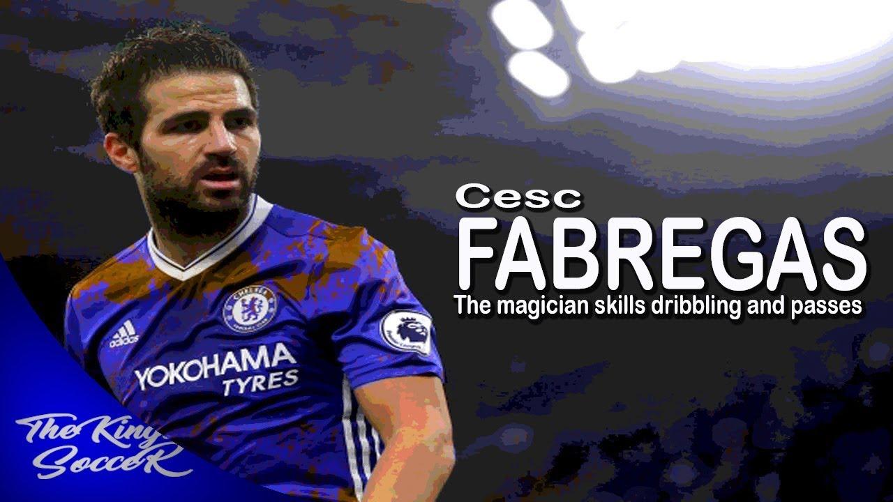 Cesc Fabregas- The Magican Skills Dribbling And Passes