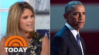 Jenna Bush Hager Reflects On President Obama Daughters' Love For Their Dad | TODAY