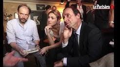 Une minute, une image. François Hollande et Julie Gayet ensemble