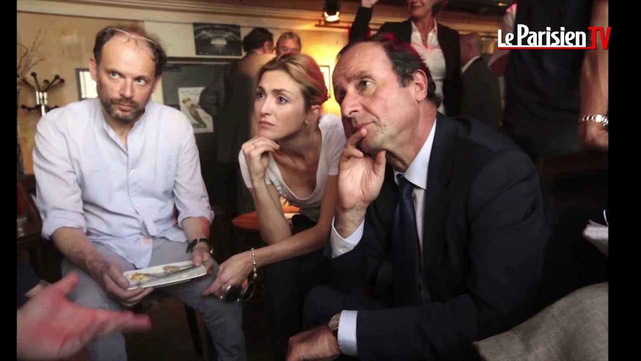 une minute une image fran ois hollande et julie gayet ensemble youtube. Black Bedroom Furniture Sets. Home Design Ideas