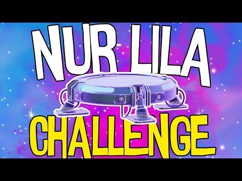 NUR LILA CHALLENGE | Fortnite Battle Royale
