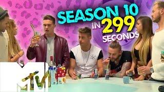 GEORDIE SHORE SEASON 10 IN 299 SECONDS!   MTV
