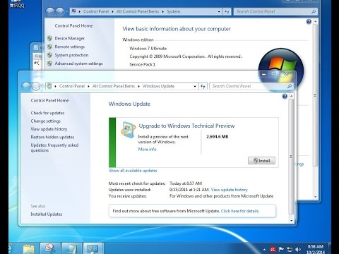 Microsoft windows 10 Update | How We Upgrade window 8/8.1 to Window 10