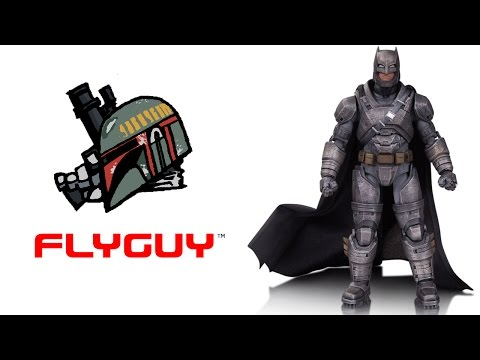 DC Collectibles Films Premium Armored Batman Action Figure Toy Action Figure Review | By @FLYGUY