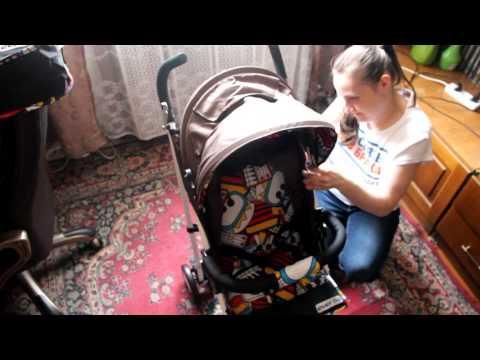 Обзор на детскую прогулочную коляску-трость Everflo Е-109