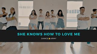 DANCE ARMY | SHE KNOWS HOW TO LOVE ME | POPDANCE | DANCE FITNESS