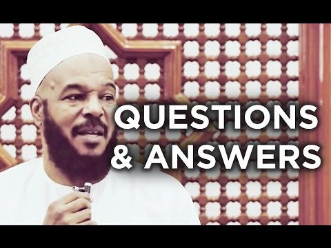 Questions & Answers Session with Dr. Bilal Philips
