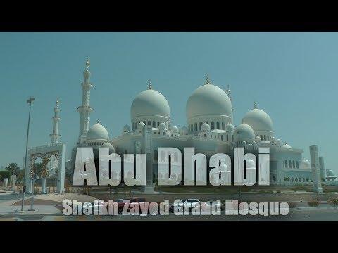 Abu Dhabi - Sheikh Zayed Grand Mosque  (HD 1080/60P)