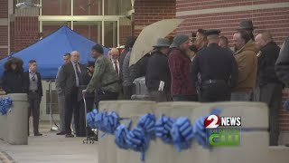 Community prepares to say goodbye to Det. Del Rio