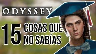 15 COSAS QUE TIENES QUE SABER DE ASSASSIN'S CREED: ODYSSEY