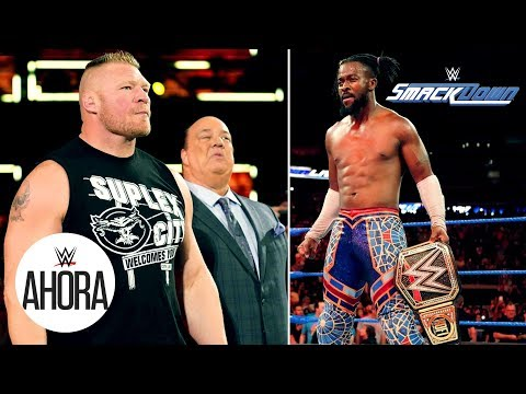 ¿Kofi Kingston le teme a la Bestia Encarnada?: WWE Ahora, Septiembre 24, 2019