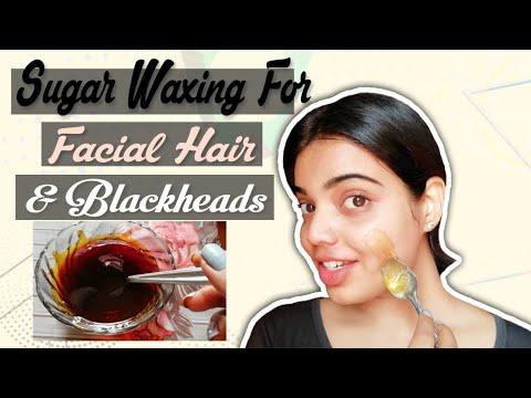 Wax for facial hair & blackheads