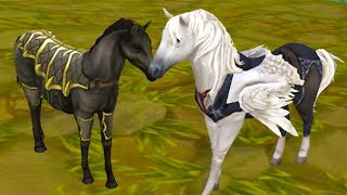 СИМУЛЯТОР МАЛЕНЬКОГО ПИТОМЦА #9 Лошади и Лошадки СВАДЬБА - Жизнь Зверей Онлайн #ПУРУМЧАТА