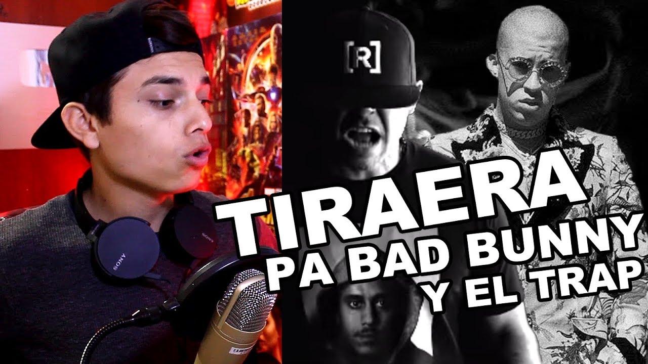 Residente & Nach - Rap Bruto (RIP TRAP LATINO) Eminem Kamikaze Version latina Reaccion #1