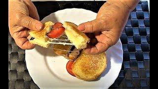 """Gaynar sendviç""""Tələbə sendvici"""".👍 Горячие сэндвичи """"Бедный студент"""""""