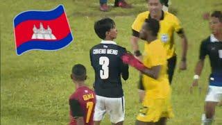 Gambar cover Cambodia vs Timor leste Red card for cambodia 🇰🇭😣