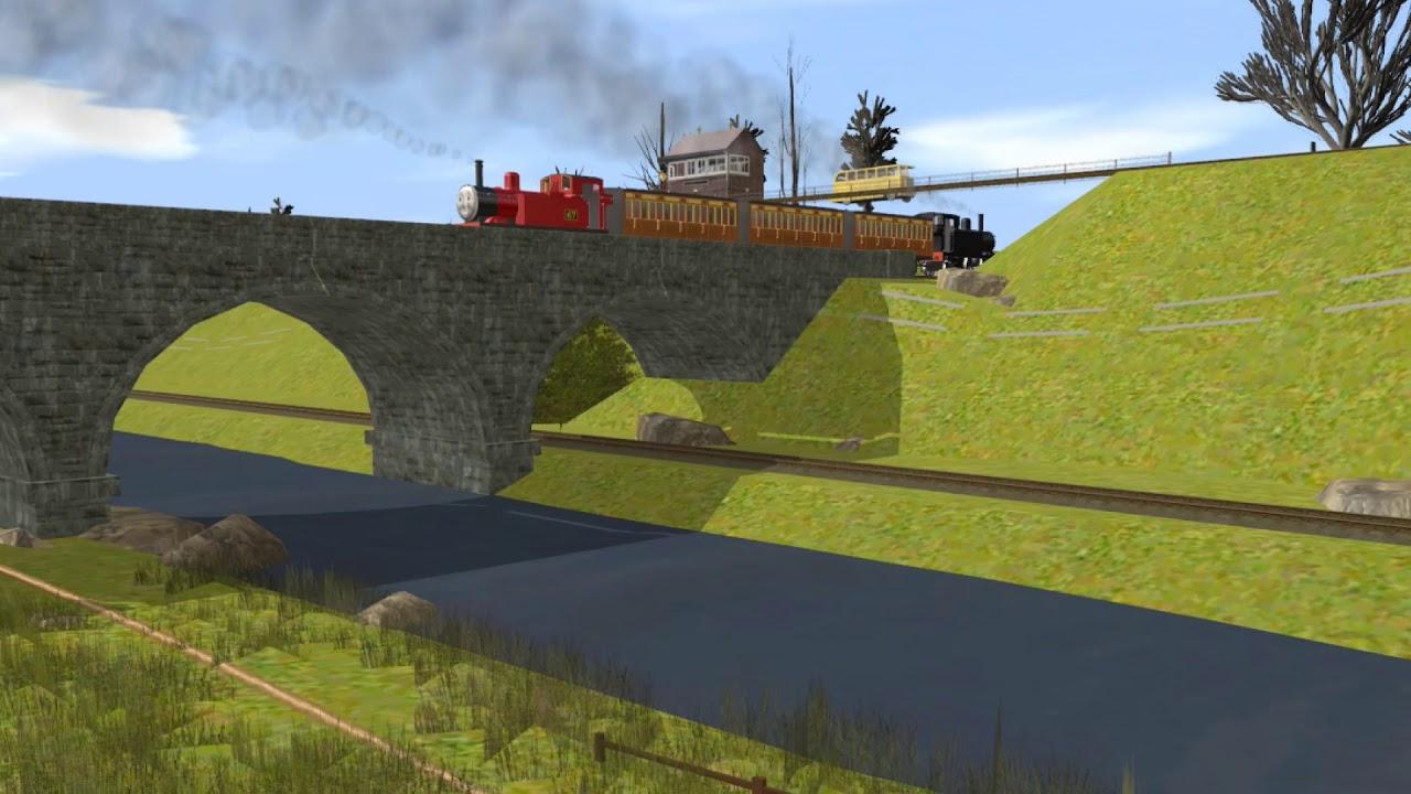 Thomas The Trainz Engine: Never Never Never Give Up MV