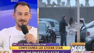 "Stefan Stan ""Nu m-am gandit ca o sa devin cantaret"""