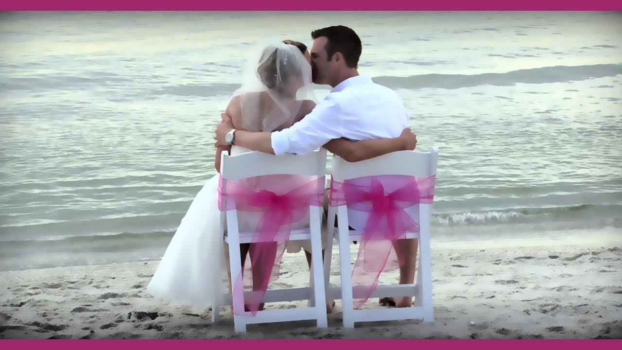 Naples Beach Wedding Video 8th Avenue South 239.218.6270