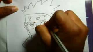 How to draw kakashi Hatake(Mybest) from Naruto the last