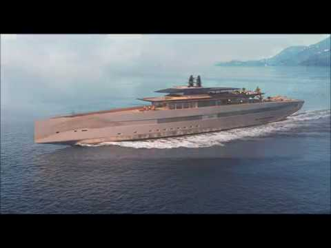The 115-meter yacht concept Art of Life by Sinot Yacht Architecture & Design