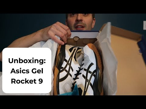 Unboxing: Asics Gel Rocket 9