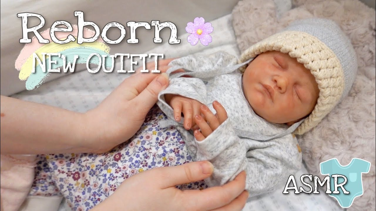 Reborn Tilda New Outfit Changing - Day 1/Oddly Satisfying ASMR /Collector's video