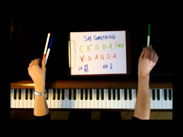 Piano say something piano chords easy : How to Play: Say Something by A Great Big World - Piano Tutorial ...