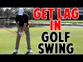 How to Get Lag In Your Golf Swing | Lead Wrist in Crazy Detail