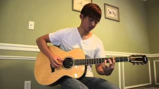 Sungmin Lee: IU - 'Peach - 복숭아' - Acoustic Fingerstyle Guitar Cover