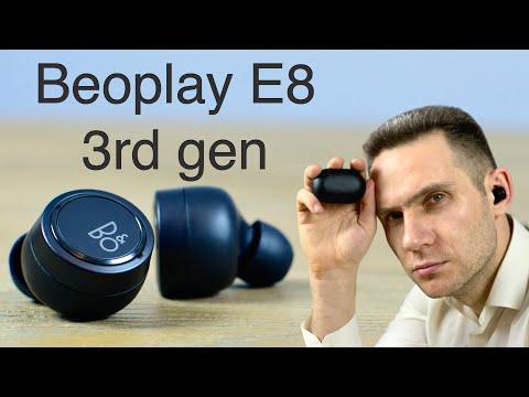 B&O Beoplay E8 3rd Gen от Bang & Olufsen. Особенности и отличия.