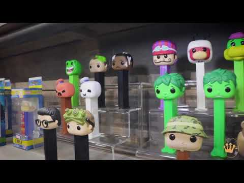 Funko Toy Fair New York Booth Tour Part 1