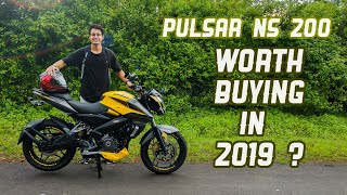 Bajaj Pulsar Ns 200 Abs 2019 Review - Better Than Apache 200 4V ?