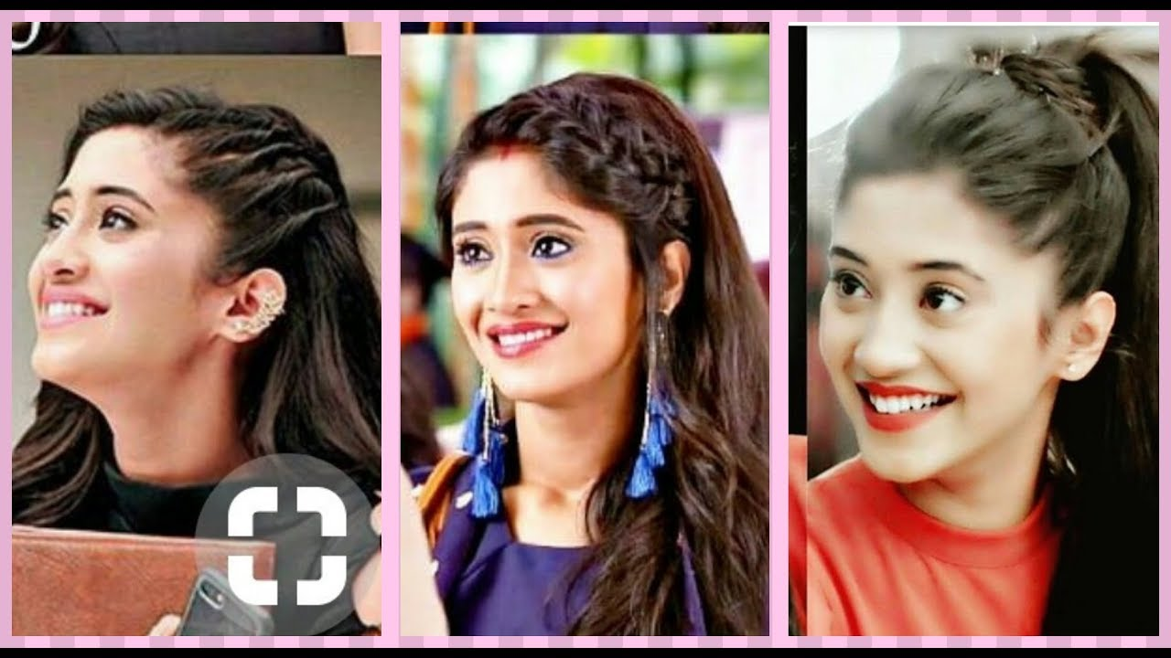 Easy everyday college/school hairstyles inspired by Shivangi Joshi/ Naira  || Naira hairstyle