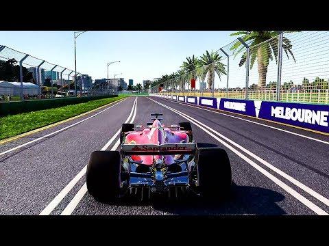 F1 2017 - (FERRARI) Australian Grand Prix Gameplay (PS4 Pro) @ 1080p (60ᶠᵖˢ) HD ✔