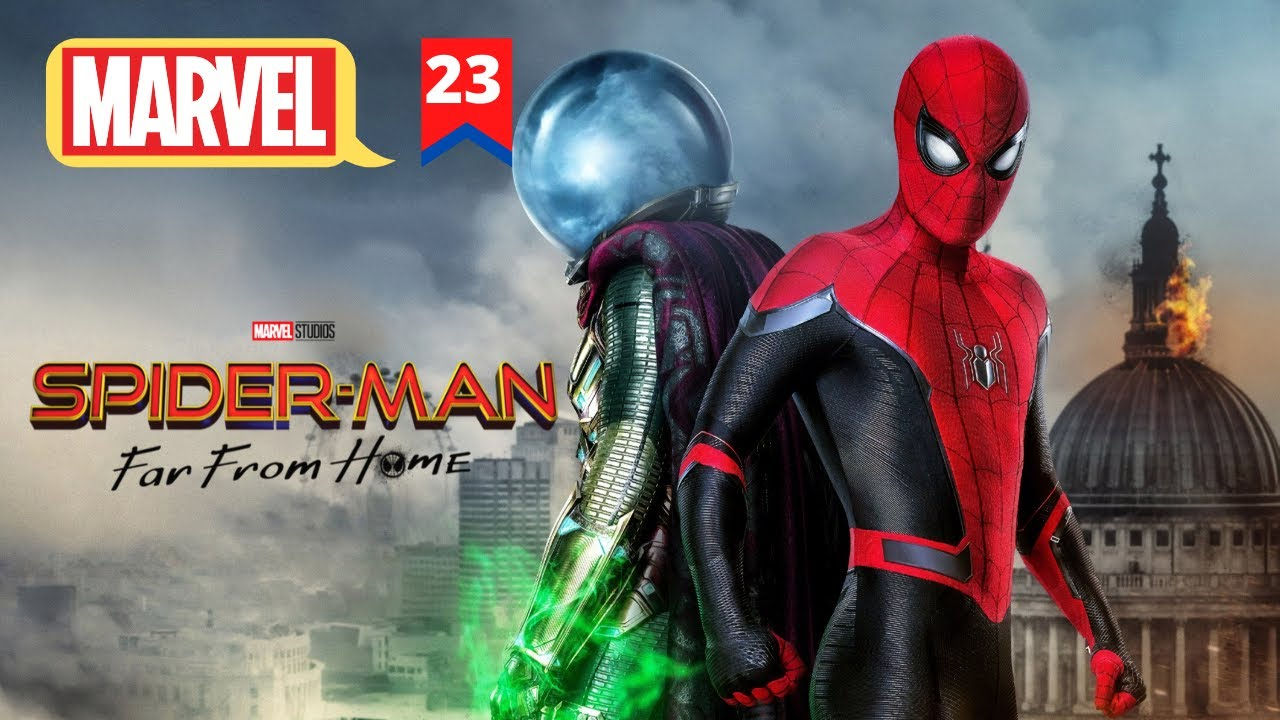 Download Spiderman Far From Home Explain In HINDI | MCU Movie 23 Explain In HINDI | Hitesh Nagar